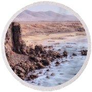 El Cotillo - Fuerteventura Round Beach Towel