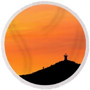 El Faro Round Beach Towel