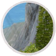 Elcapitan Round Beach Towel