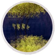 Elegance In The Park Horizontal Adventure Photography By Kaylyn Franks Round Beach Towel