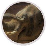 Elephant Round Beach Towel
