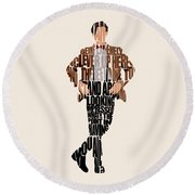Eleventh Doctor - Doctor Who Round Beach Towel