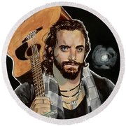 Elias Samson Round Beach Towel