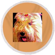Ellie Round Beach Towel