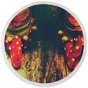 Elves And Feet Round Beach Towel by Jorgo Photography - Wall Art Gallery