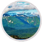 Emerald Hill Round Beach Towel