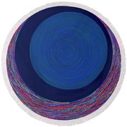 Empty Cup 2 Round Beach Towel