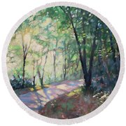 Enchanted Round Beach Towel