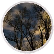 Enchanting Night Round Beach Towel by James BO Insogna