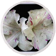 Encore Azaleas Round Beach Towel