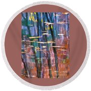 Enders Reflection Round Beach Towel