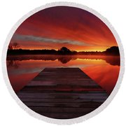Endless Possibilities Round Beach Towel