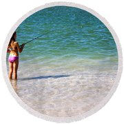 Endless Summer Round Beach Towel
