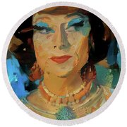 Endora Round Beach Towel