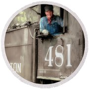 Engineer 481 Round Beach Towel