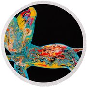 Enless Possibilities Round Beach Towel