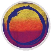 Enso 6 Round Beach Towel