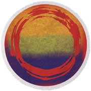 Enso 7 Round Beach Towel