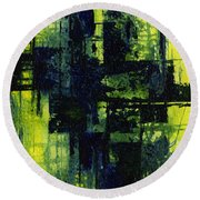 Envy Round Beach Towel
