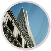 Eras, San Francisco Round Beach Towel