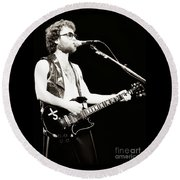 Eric Bloom Of Blue Oyster Cult - Cow Palace 12-31-79 Round Beach Towel