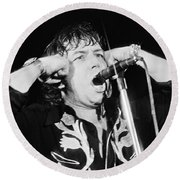 Eric Burdon In Concert-1 Round Beach Towel