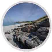 Eriskay Beach Round Beach Towel