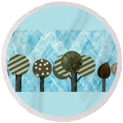 Essential Grove Round Beach Towel