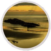 Essentially Tranquil Round Beach Towel