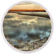Estuary Round Beach Towel