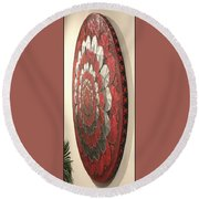 Eternal Hearts  Round Beach Towel
