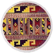 Ethnic Tribal Round Beach Towel