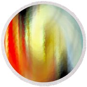 Evanescent Emotions Round Beach Towel