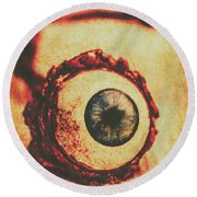 Evil Eye Round Beach Towel by Jorgo Photography - Wall Art Gallery