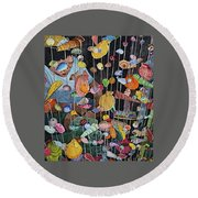 Exotic Seashells For Sale Round Beach Towel