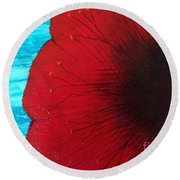 Exotica Round Beach Towel