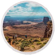 Expansive View Round Beach Towel