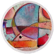 Expression # 13 Round Beach Towel