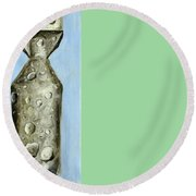 Extinction Round Beach Towel