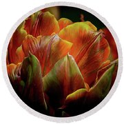Extraordinary Passion Round Beach Towel