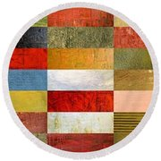 Eye Candy Round Beach Towel