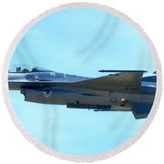 F16 Round Beach Towel