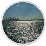 Fabulous Sydney Harbour Round Beach Towel