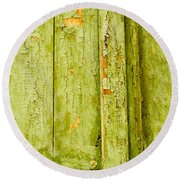 Fading Old Paint Round Beach Towel by John Williams