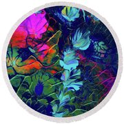 Fairy Dusting 2 Round Beach Towel