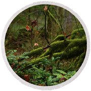Fairy Forest Round Beach Towel
