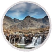 Fairy Pools - Isle Of Skye Round Beach Towel