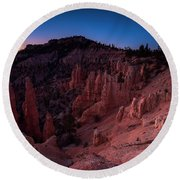Fairyland Canyon Round Beach Towel
