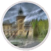 Fairytale Villa - Villa Delle Fiabe Round Beach Towel