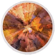 Fall Pizzaz Utah Adventure Landscape Photography By Kaylyn Franks Round Beach Towel